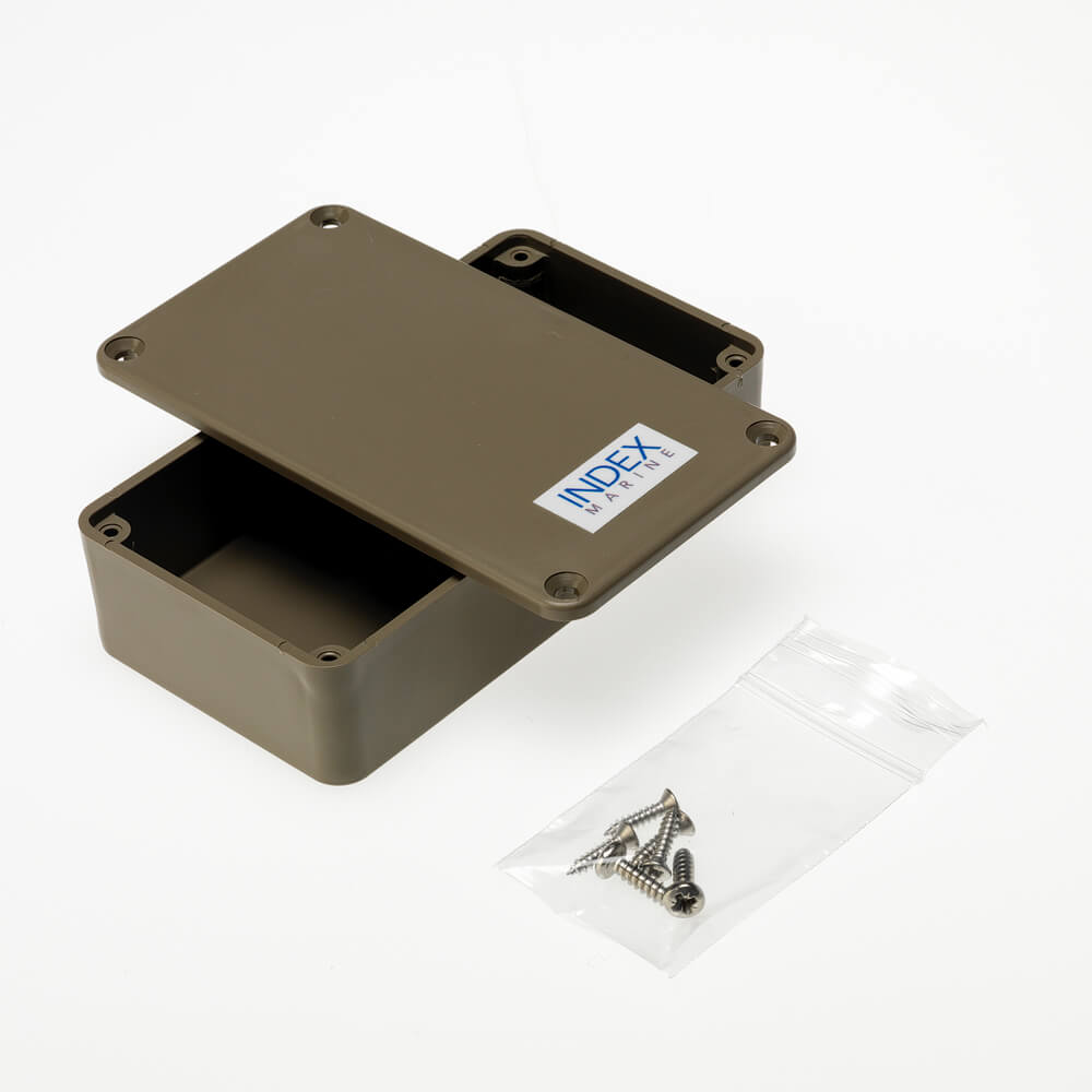 A4-JB3PB blank plastic box - drill for cable entry