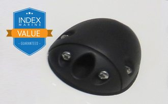 SE6B - Value Range black plastic side-entry cable gland