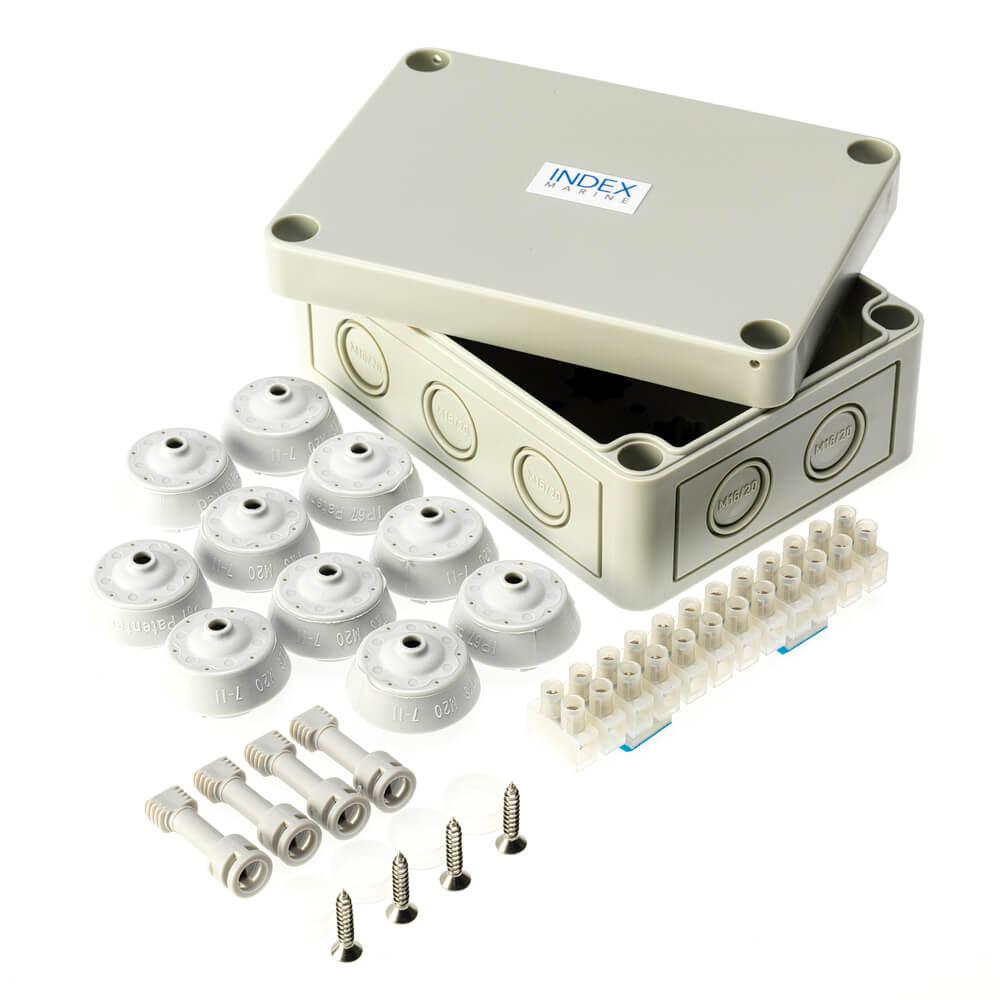 JBMK medium waterproof electrical junction box kit