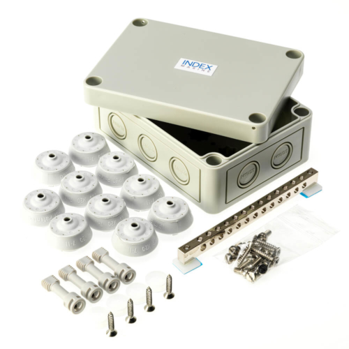 PK-JBMEBK waterproof earth busbar junction box kit