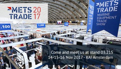 Come and meet us at METSTRADE 2017