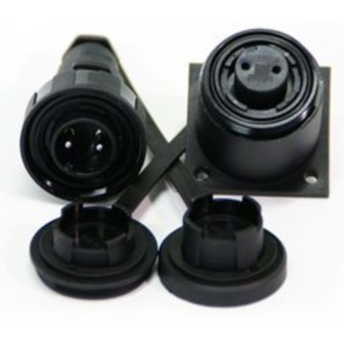 B-DP2BH Plug and bulkhead flange socket connector kit