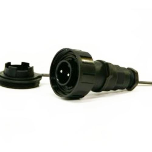 B-DP2P Bulgin flex in-line plug and cap