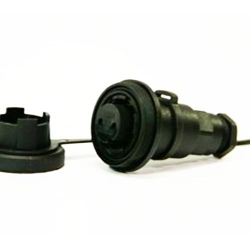 B-DP2SIL Bulgin flex in-line socket and cap