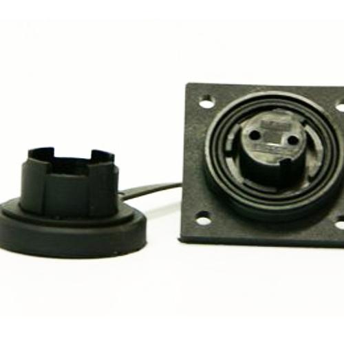B-DP2S Bulgin low profile flange socket and cap