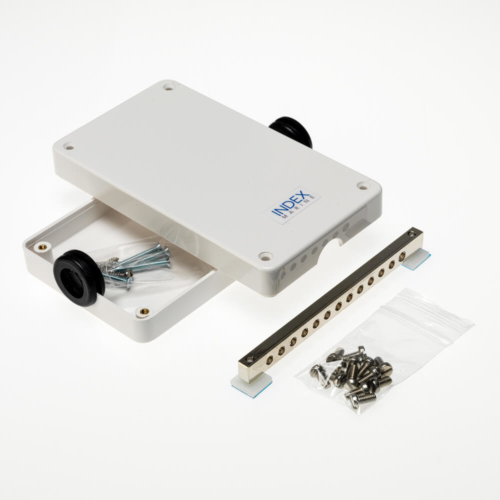 A4 -JBBB12 12 way busbar electrical junction box kit