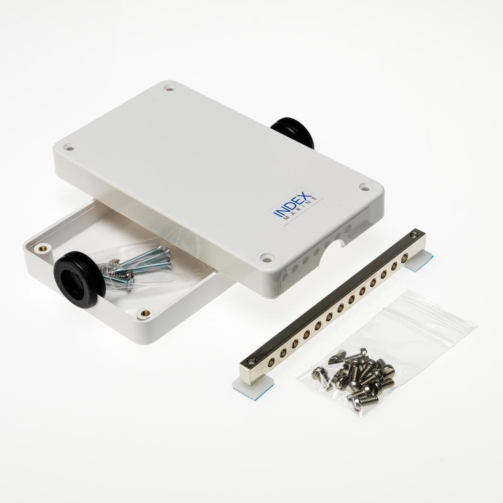 A4 -JBBB12 12 way busbar electrical junction box kit