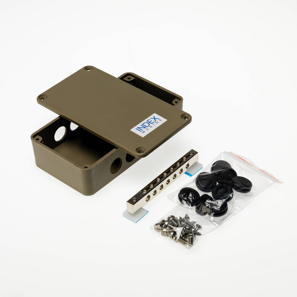 A4-JBBB6 6 way busbar electrical junction box kit
