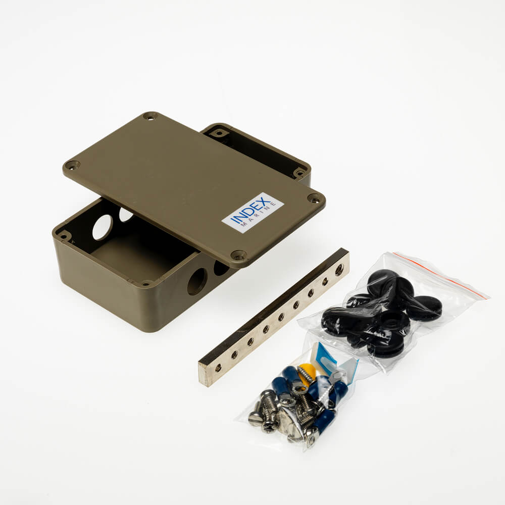 A4-JBBB6R 6 way ring busbar electrical junction box kit