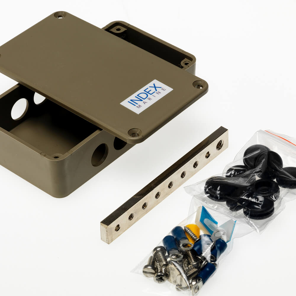 A4-A4-JBBB6R 6 way ring busbar electrical junction box kit