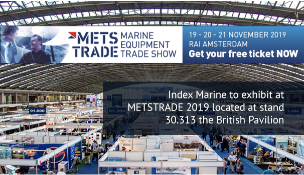 Index Marine exhibit at METSTRADE 2019